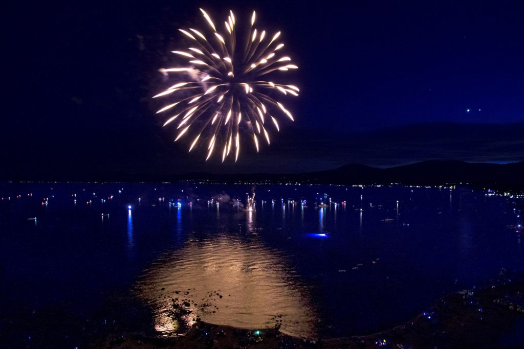 July 3rd Fireworks & Beach Party - North Tahoe Business