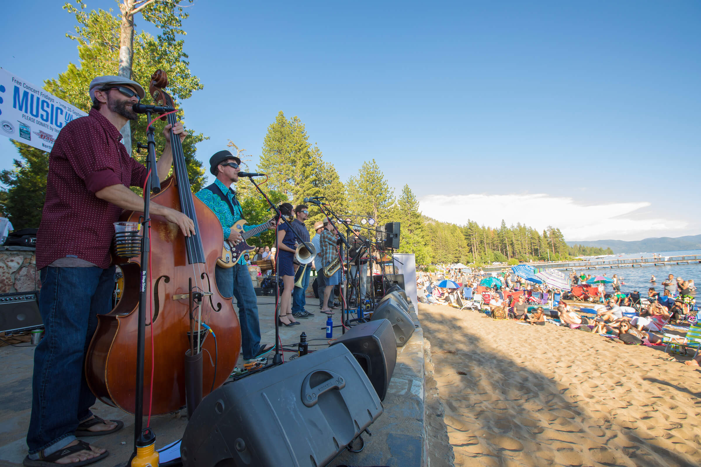 Music On The Beach North Tahoe Business Association