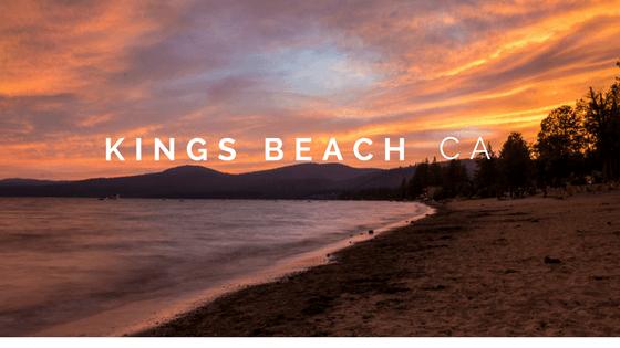 kings beach cover sunset