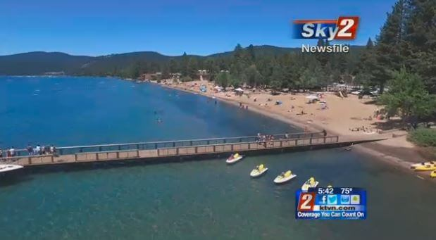 NTBA Staff & Kings Beach Featured on KTVN Channel 2 News